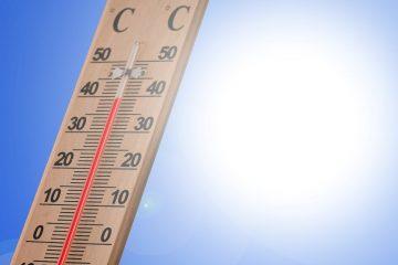 steigende Temperaturen
